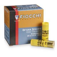 """Fiocchi High Velocity, 20 Gauge, 2 3/4"""", 1 oz., 25 Rounds"""