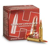 Hornady Superformance Varmint, .17 Hornet, V-MAX, 20 Grain, 25 Rounds