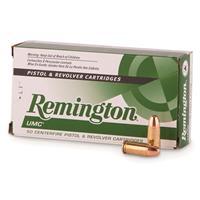 Remington UMC, 9mm, 115 Grain, MC, 500 Rounds