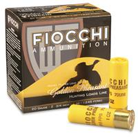 """Fiocchi, Golden Pheasant, 20 Gauge, 2 3/4"""" Shells, 1 oz., Nickel Plated, 25 Rounds"""