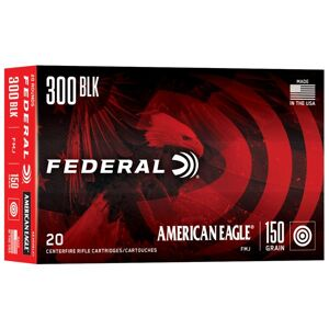 Federal American Eagle Tactical Rifle Ammunition - 300 AAC Blackout