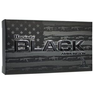Hornady BLACK Centerfire Rifle Ammo - .223 Remington - 75 Grain