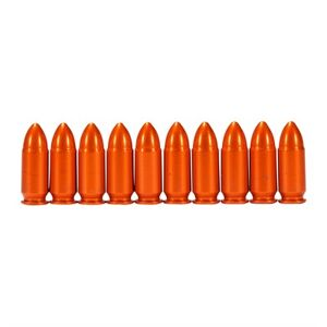 A-Zoom Ammo Snap Cap Dummy Rounds - 9mm Luger Snap Caps 10/Pack