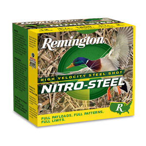 "Remington Nitro-Steel High-Velocity Steel Shot, 12-Ga, 3"", #2 Shot"