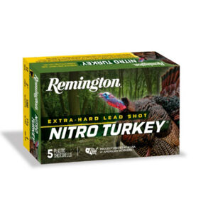 "Remington Nitro Turkey Loads, 12-ga. 3.5"", 5 Shot, 5 Rounds"