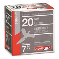 "Aguila High-Velocity Birdshot, 20 Gauge, 2 3/4"", 1 oz., 250 Rounds"