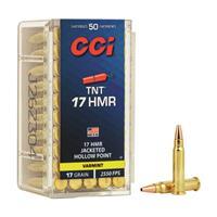 CCI, .17 HMR TNT, JHP, 17 Grain, 50 Rounds