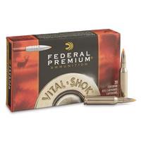 Federal, 7mm-08 Remington Magnum, Trophy Bonded Tip, 140 Grain, 20 Rounds