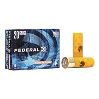 """Federal Classic, 20 Gauge, 2 3/4"""", 3 Buck, 20 Pellets, Buckshot, 5 Rounds"""