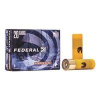 "Federal Classic, 20 Gauge, 2 3/4"", 3/4 oz., Rifled Slugs, 5 Rounds"