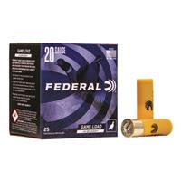 "Federal Classic Hi-Brass, 20 Gauge, 2 3/4"", 1 oz., Shotshells, 25 Rounds"