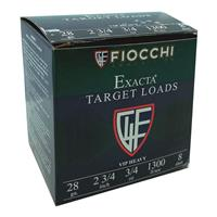 "Fiocchi Exacta VIP Heavy, 28 Gauge Ammo, 2 3/4"", 3/4 oz., 250 Rounds"