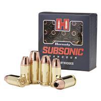 Hornady Subsonic, 9mm, XTP, 147 Grain, 25 Rounds