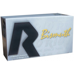 "Rio Bismuth 36 Shotshell 12 ga 2-3/4"" MAX 1-1/4 oz #3 1350 fps 10/Box"