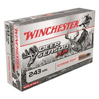 Winchester Deer Season XP Copper Impact, .243 Win., Extreme Point Lead Free, 85 Grain, 20 Rounds