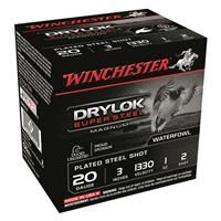 "Winchester DryLok Super Steel Magnum, 20 Gauge, 3"" Shot Shells, 1 oz., 250 Rounds"