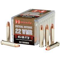 Hornady Critical Defense, .22 Mganum, FTX, 45 Grain, 50 Rounds