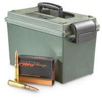 PMC Bronze Line, .50 BMG, FMJBT, 660 Grain, 100 rds. with Ammo Can