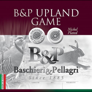 B&P Upland Game Shotshells- 28 ga 2-3/4 In 1 oz #7.5 1210 fps 25/ct