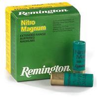 "Remington, 12 Gauge, 3"" Shell, 1 7/8 oz., Nitro Magnum, 25 Rounds"
