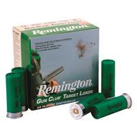 "Remington Gun Club Target Loads, 12 Gauge, 2 3/4"" Shot Shells, 1 1/8 oz., 250 Rounds"
