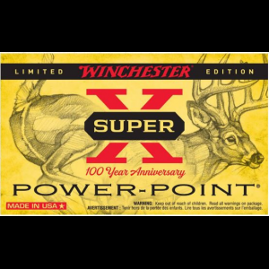 Winchester 100 Year Anniversary Super-X Ammunition .308 Win 150gr PP 2828 fps 20/ct