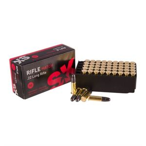 Brownells Rifle Match Ammo 22 Long Rifle 40gr Lead Round Nose - 22 Long Rifle 40gr Lead Round Nose 50/Box
