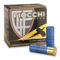 """Fiocchi, Golden Pheasant, 16 Gauge, 2 3/4"""" Shells, 1 1/8 oz., Nickel Plated, 25 Rounds"""